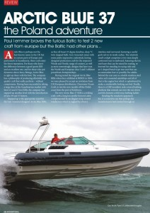 Artic Blue 37  Rib International Review