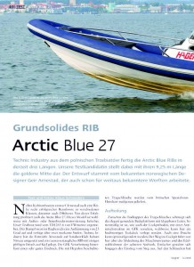 Test Arctic Blue 27