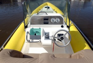Arctic Blue 27 outboard