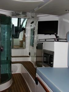 Arctic Blue 35 inboard cabin