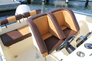 Nordic 22 CC Outboard cockpit