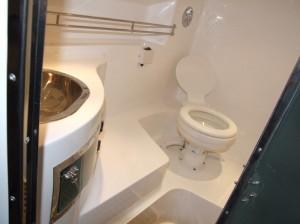 Arctic Blue 35 inboard Bathroom
