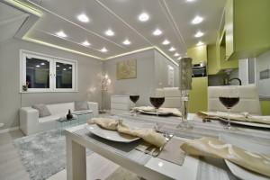 stół, salon, kuchnia